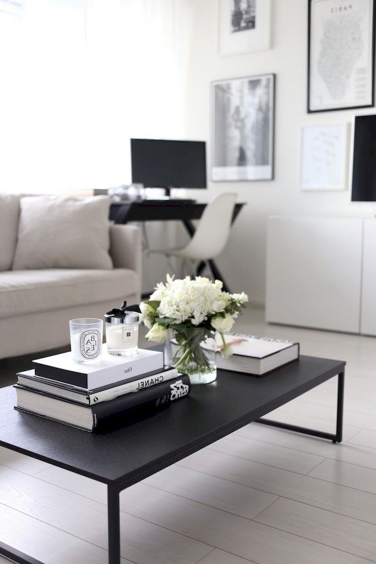 Comfy Modern Coffee Table Decor Ideas