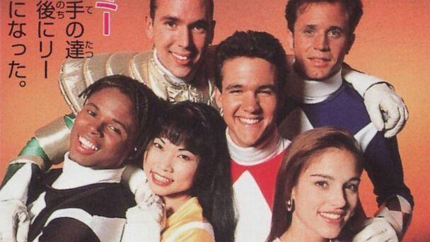 The original six #PowerRangers... #90sObsession