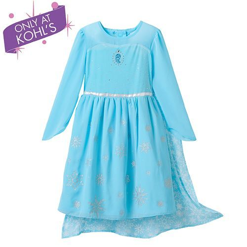 fc4700bdfa014 Disney Frozen Elsa Costume Dress by Jumping Beans® - Girls 4-7 | Luv ...