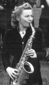 Women-only bandleader Ivy Benson during the Second World War