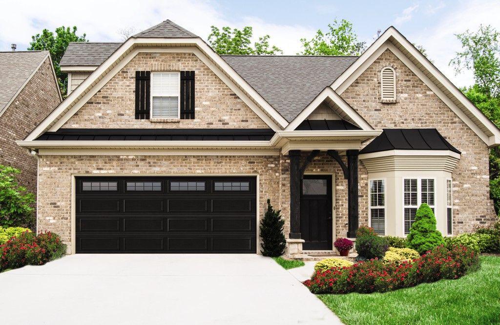 Model 8300 Ranch Black Stockton Ii Garage Door Styles Garage Door Colors Garage Door Design