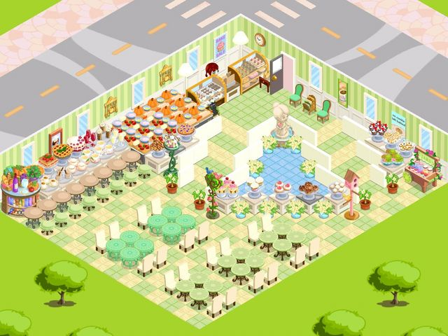 Staircase Waterfall Game Themes Bakery Design Story Games