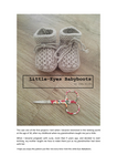 Babyboots for newborns.