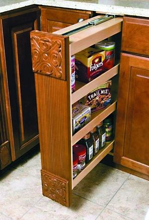 Omega National Products Cabinet Filler Kitchen Storage Solutions Storage Kitchen Base Cabinets