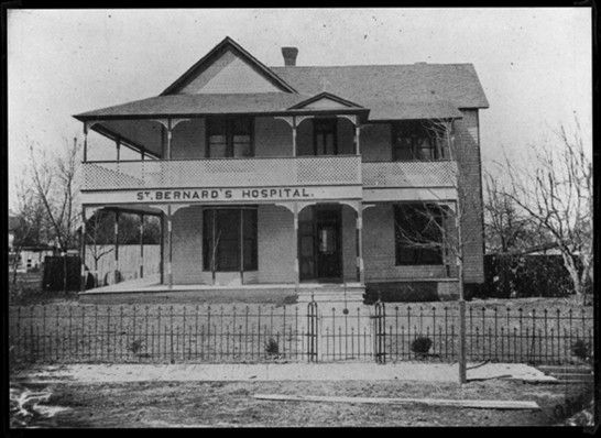 St Bernard S Hospital Original Building 1900 Jonesboro
