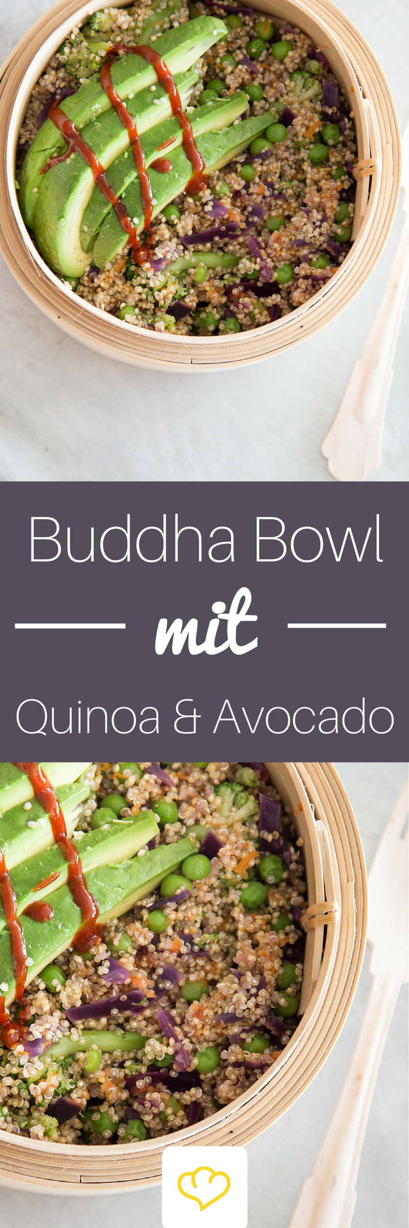 Superfood Buddha Bowl with quinoa and avocado -  Superfood Buddha Bowl with quinoa and avocado More