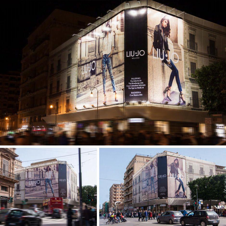LIU JO Via Cavour - Via Maqueda - Teatro Massimo Palermo - Italia  LiuJo   e231903a391