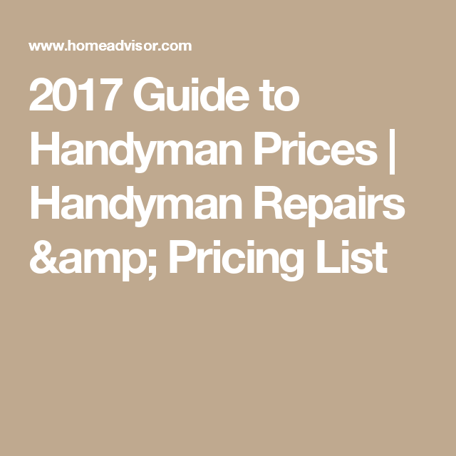 Home-aid remodeling and handyman service.