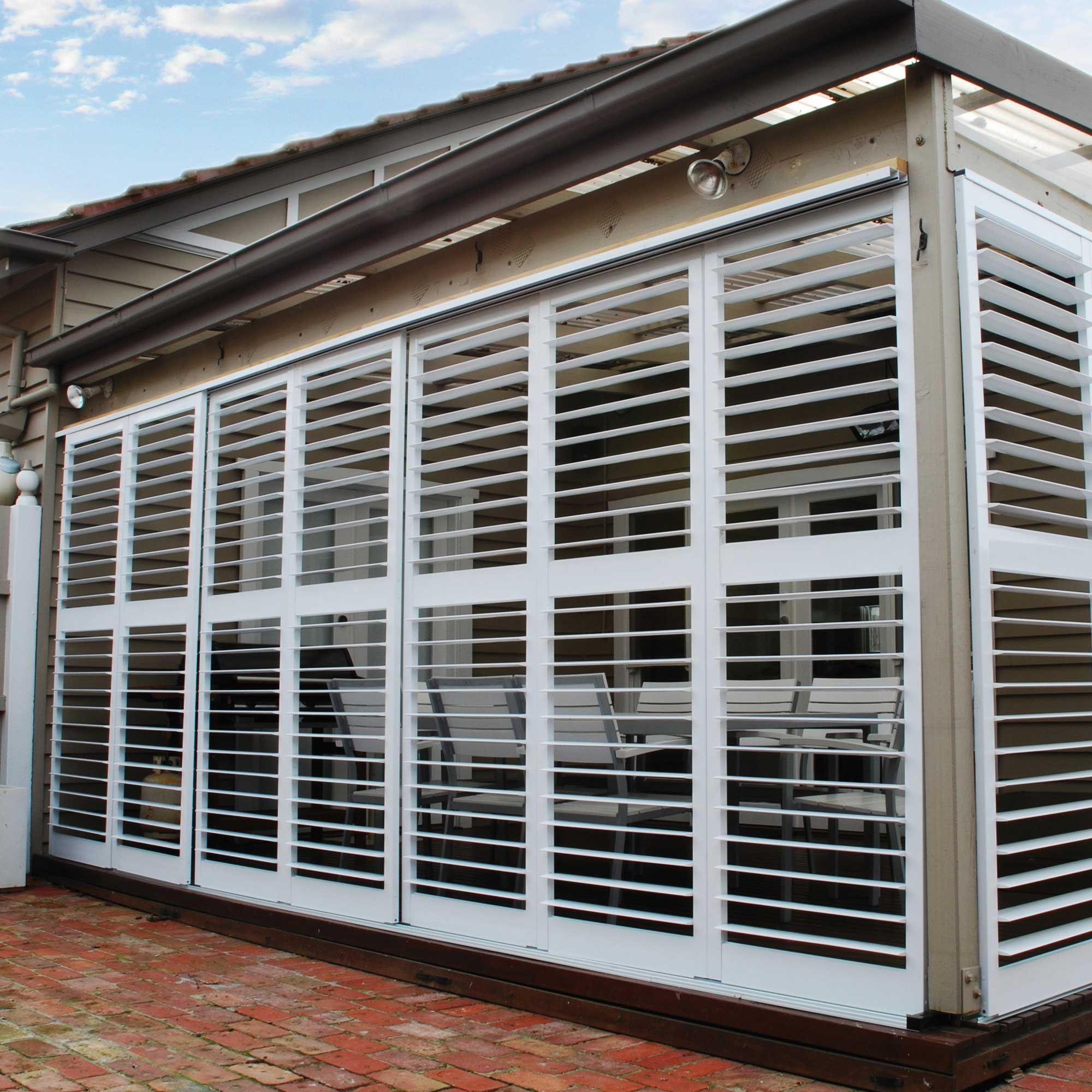Polar shutters bunnings pinterest pergola Exterior plantation shutters bunnings