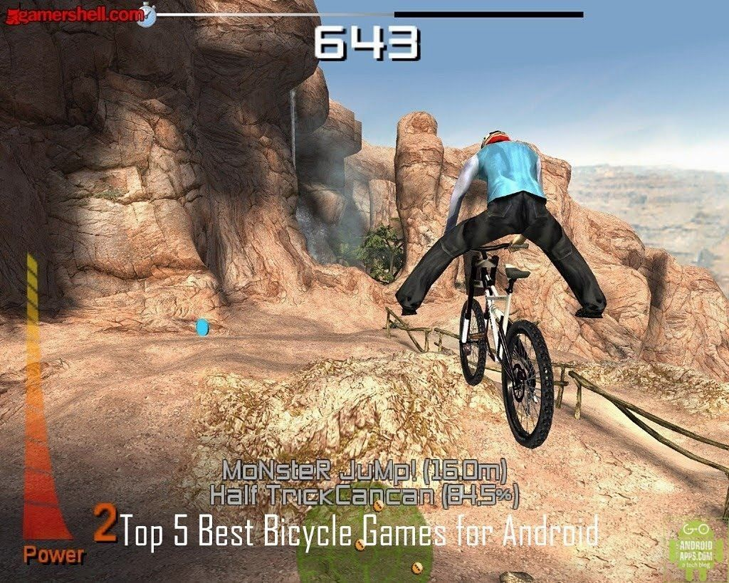 Top 5 Best Bicycle Games For Android Cool Bicycles Downhill