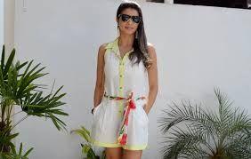 Resultado de imagem para moda primavera verão 2015 morena rosa
