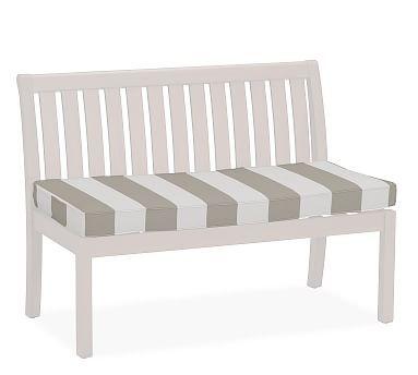 Universal 48 Banquette Bench Cushion Sunbrellar Awning Stripe