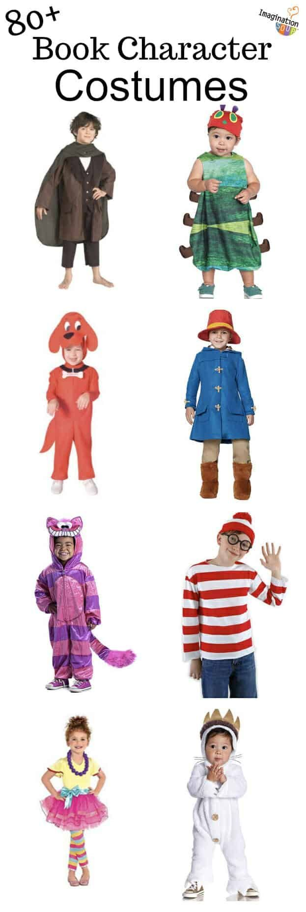 Favorite Book Character Costumes For Kids On Halloween Book Character Cost Book Character Costumes Children S Book Characters Kids Book Character Costumes