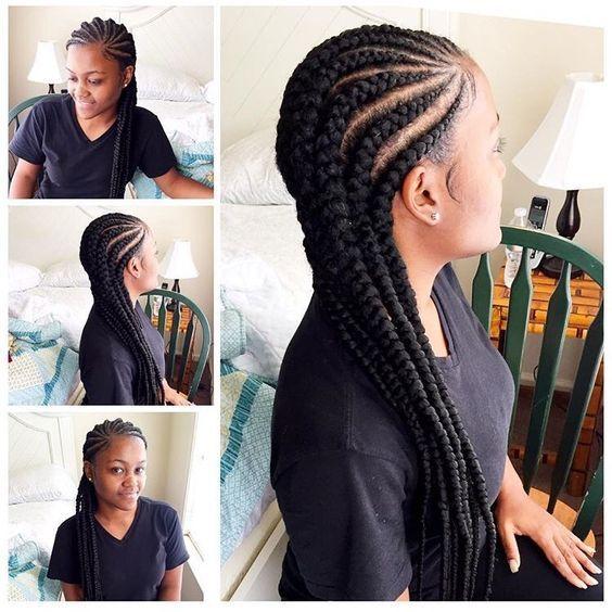 Ghana Braids Hairstyles Poersh  Photo  Braids & Twist And More  Pinterest  Cornrows