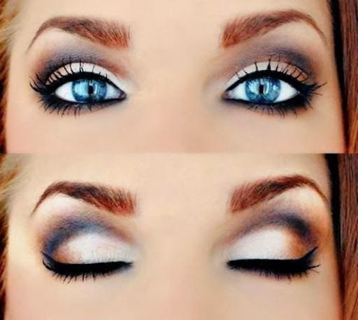 How To Make Blue Eyes Pop Eye Makeup Purple Eye Makeup Blue