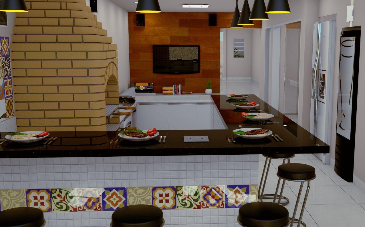 3D – Churrasqueiras | Projetta Arquitetura & Obras