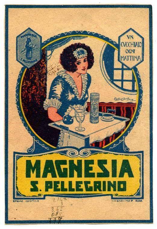 Magnesia S Pellegrino.