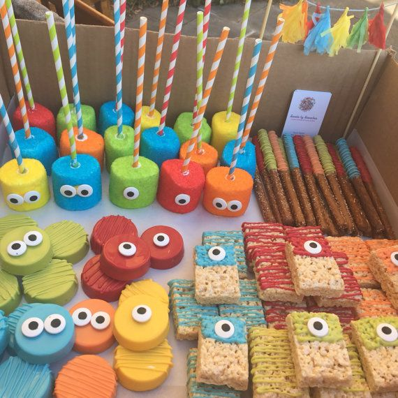Monster Themed Party Pack By Sweetsbysmooches On Etsy Monster 1st Birthdays Boys First Birthday Party Ideas Monster First Birthday