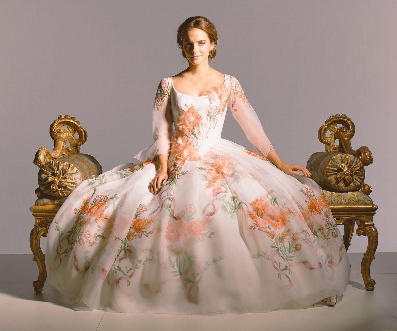 """Ewatsondaily: """"New Outtake Of Emma Watson As 'Belle' In"""
