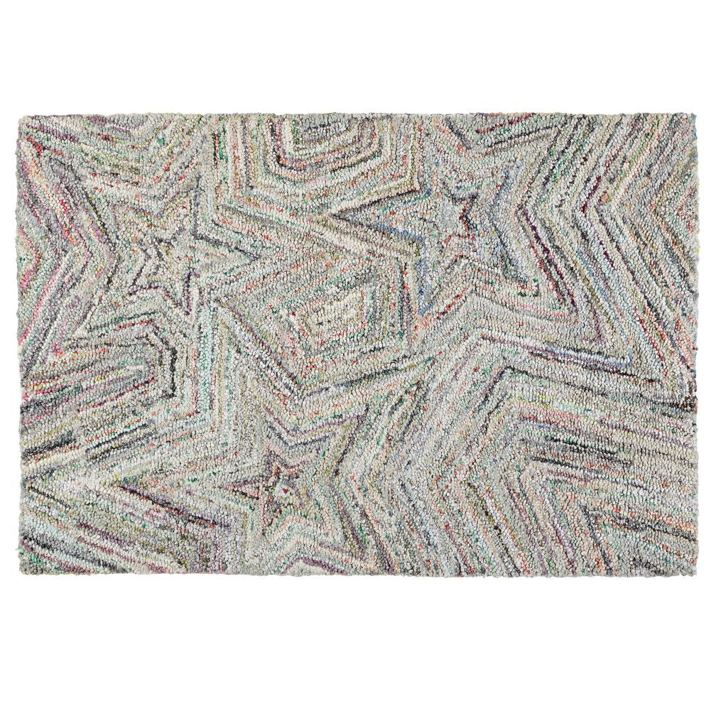 Seeing Stars Recycled Kids Area Rug Our Features Handwoven Fabric And Is Perfect For Your Room Nursery Or