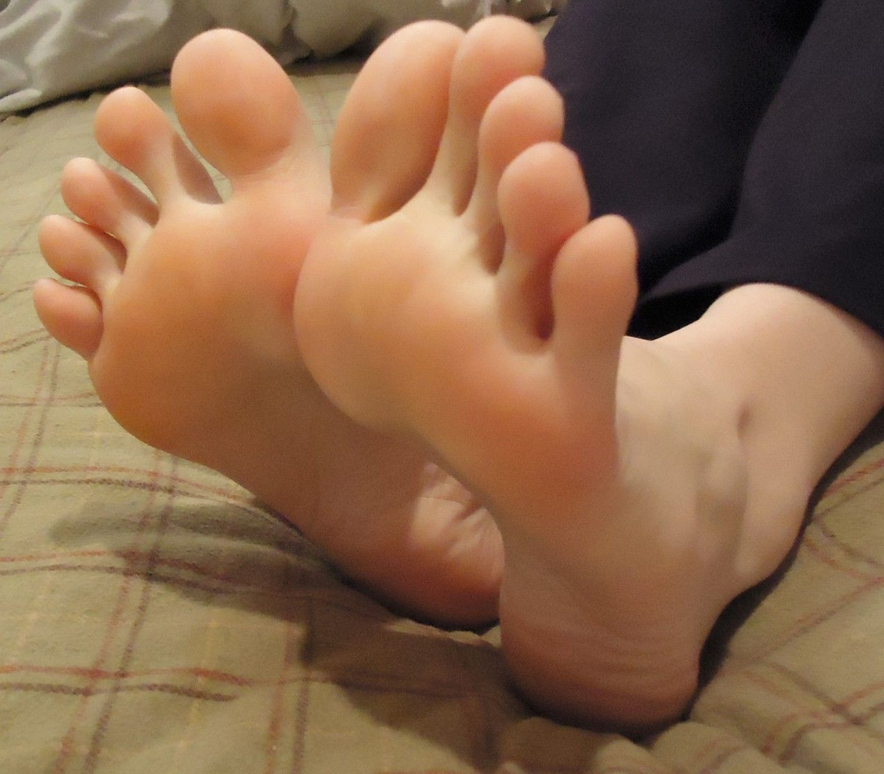 from Andres soft beautiful black feet