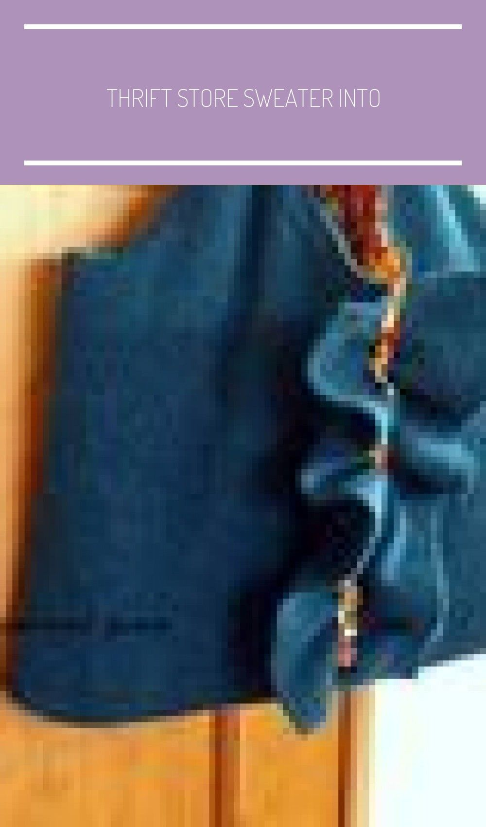 Thrift Store sweater into ruffled laptop bag with lining and pockets pullover inspiration Crafts and DoItYourself Projects pullover inspiration