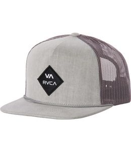 2629a5505591a The RVCA Gisler Trucker is a mid fit