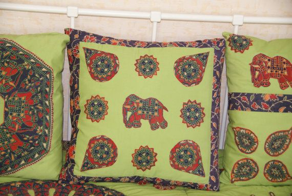 Set of duvets and 4 pillowcases Remembering India от easypatchwork