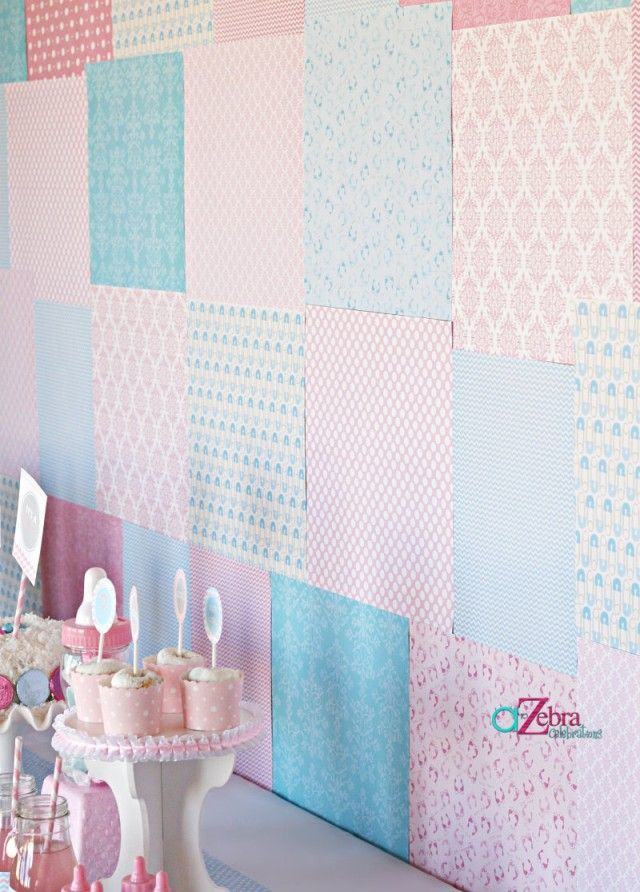 babyshower gender reveal - Gender Reveal Baby Shower