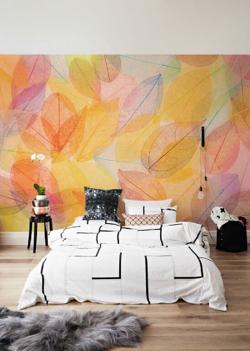 Autumn-Themed Wall Murals Celebrate the Season - http://freshome.com ...