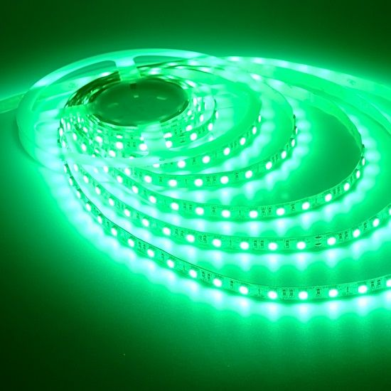 Green Led Light Strips 5050 Smd 12Volt Nonwaterproof Green Flexible Led Strip Light With