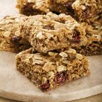 Cranberry Raisinet Oatmeal Bars - This treat is sure to become a family favorite.