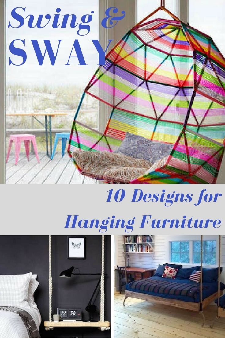 10 Playful Examples of Swinging and Swaying Furniture | Diy