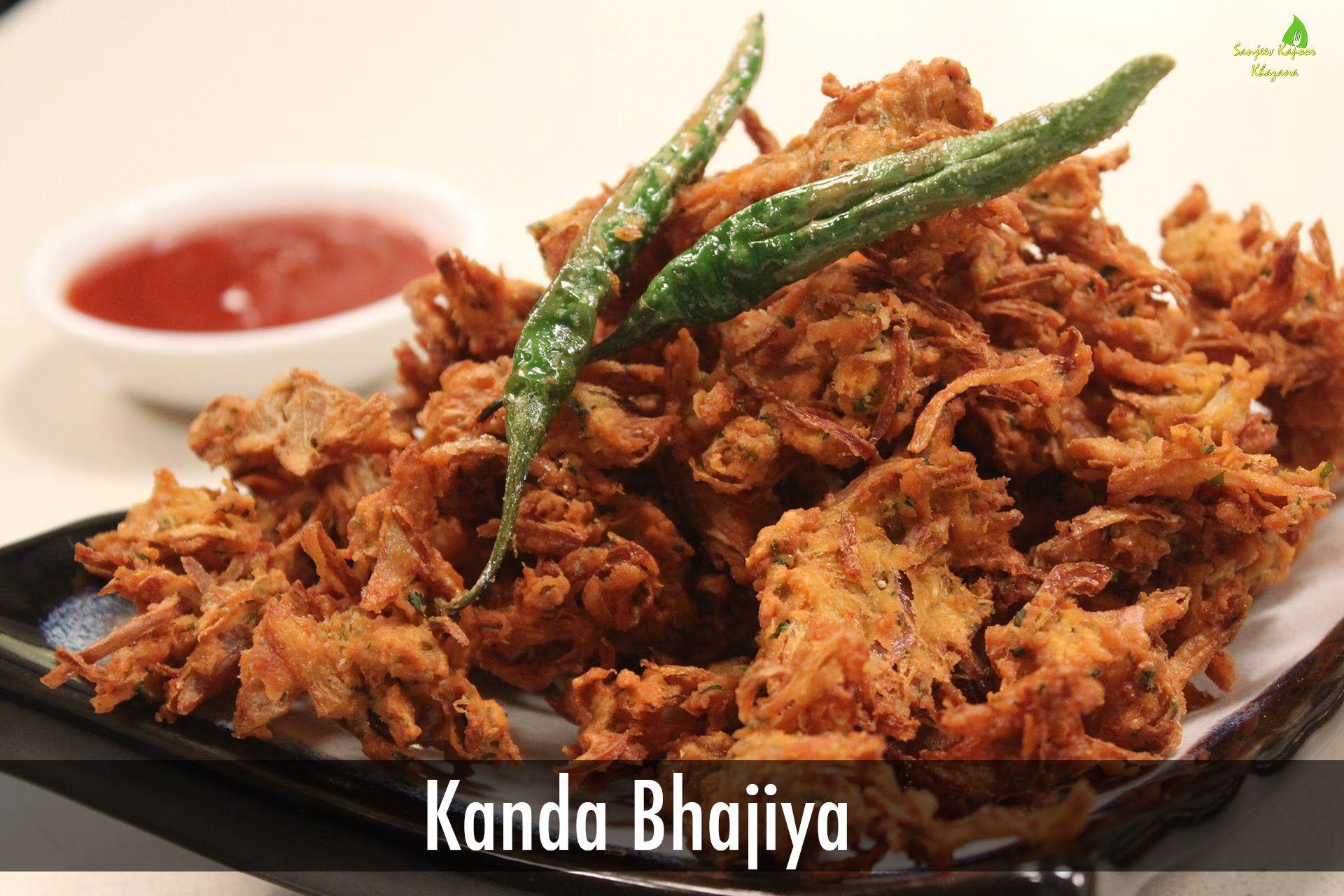 Kanda bhajiya indian snacks sanjeev kapoor khazana yummvi food forumfinder Gallery