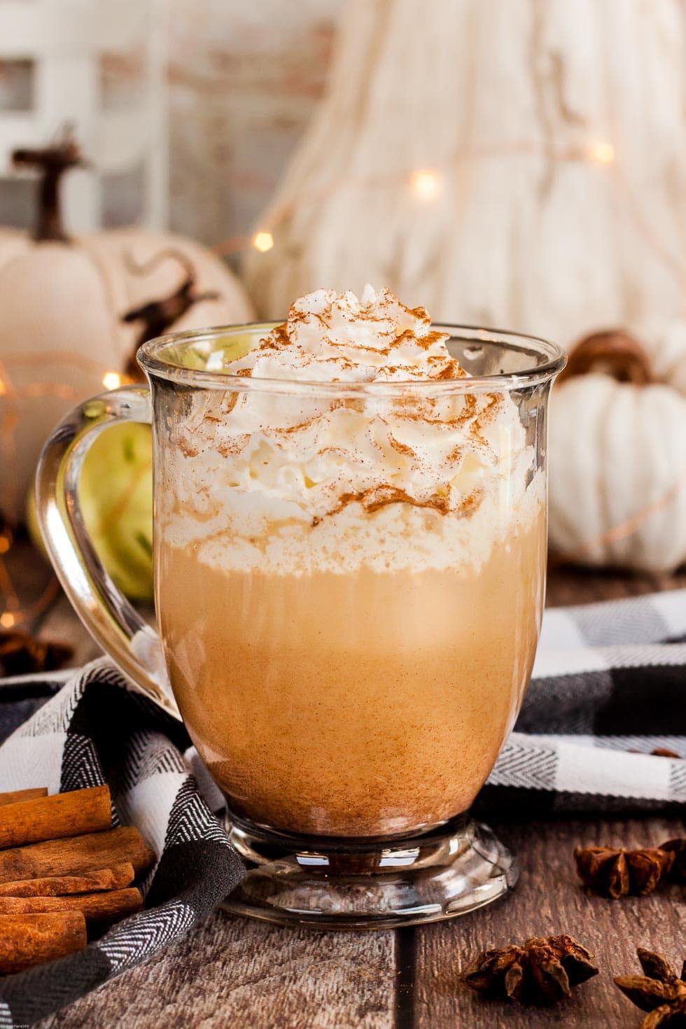 Keto Pumpkin Spice Latte {Starbucks Copycat}