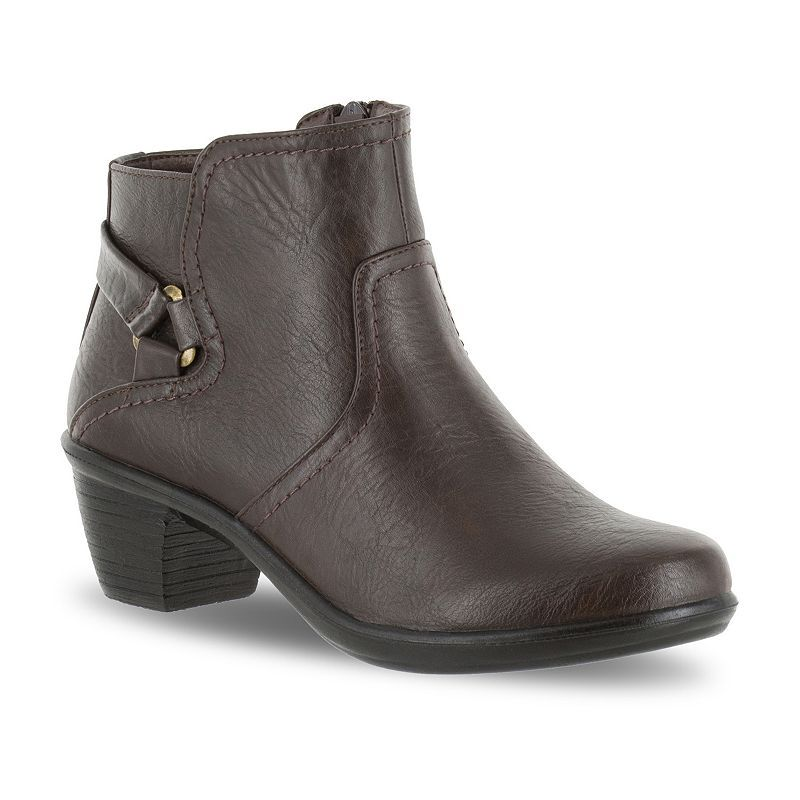 Easy Street Dawnta Women's Ankle Boots, Size: medium (9.5), Brown