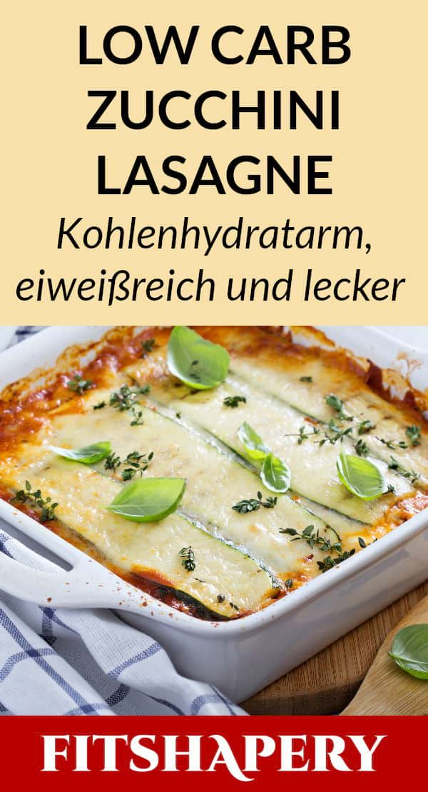 Photo of Low carb zucchini lasagna – a dream dish
