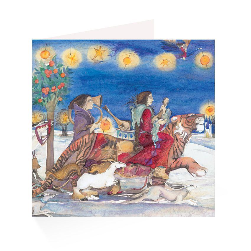 Jackie morris parades greetings cards graffeg publishing