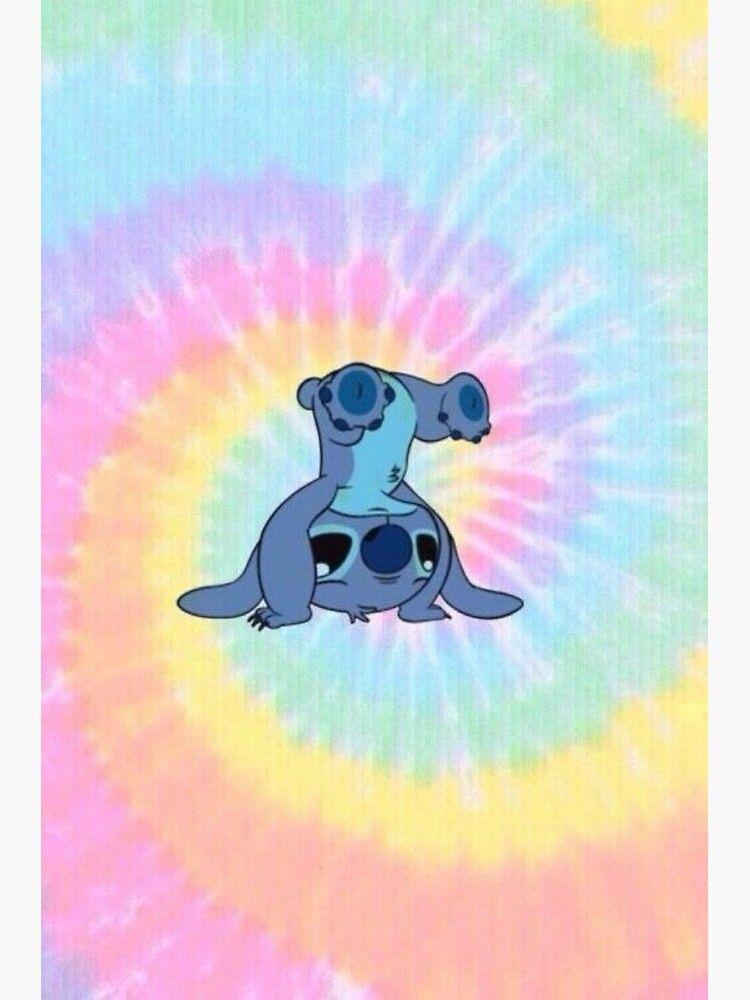 Colorfull Stitch Poster by Skye Kalara