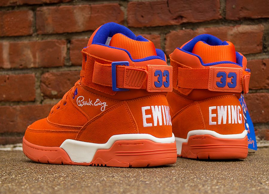 "49698459aa8 Ewing 33 Hi ""Orange Suede"" 