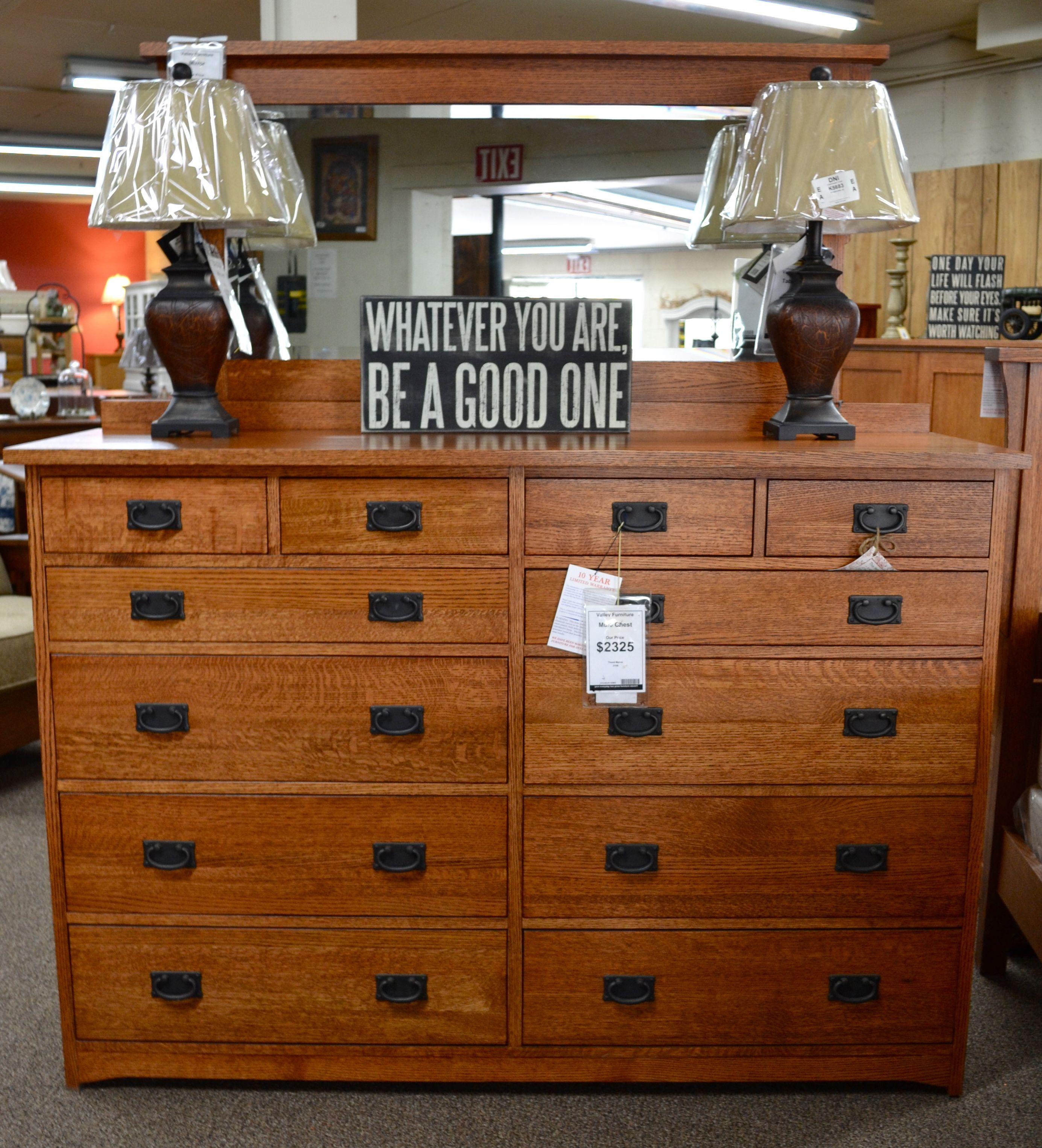 Mission or craftsman style woodwork dresser at Tucker's