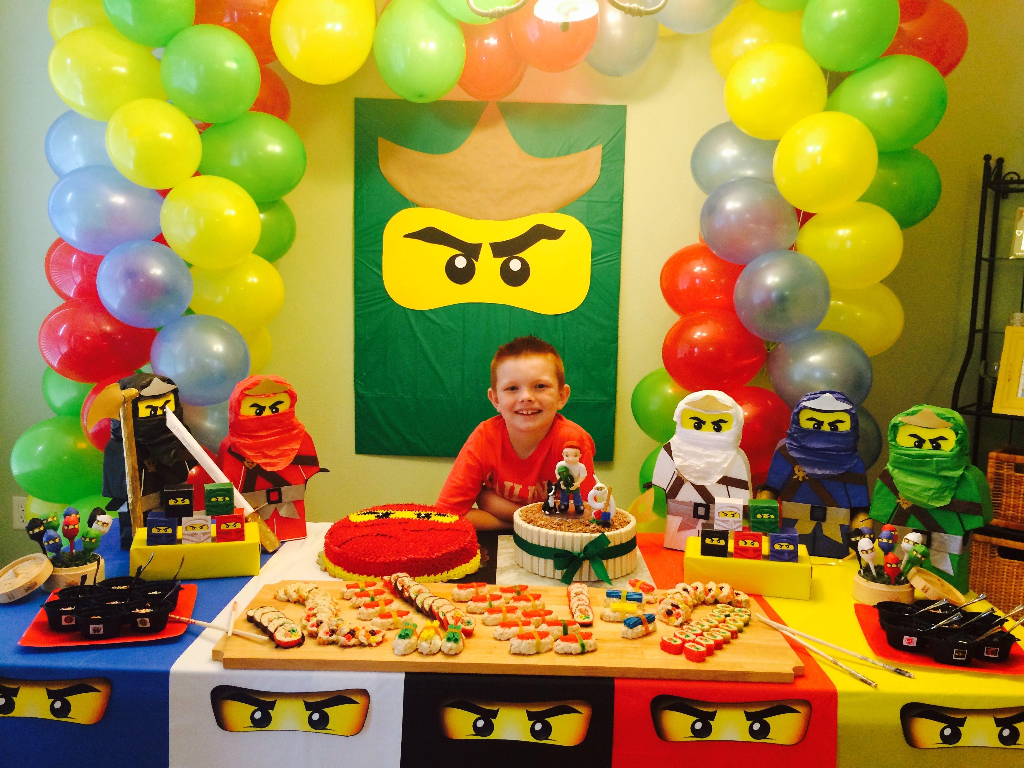 Pin By Ninibn On Ninjago Birthday Party Lego Birthday Party