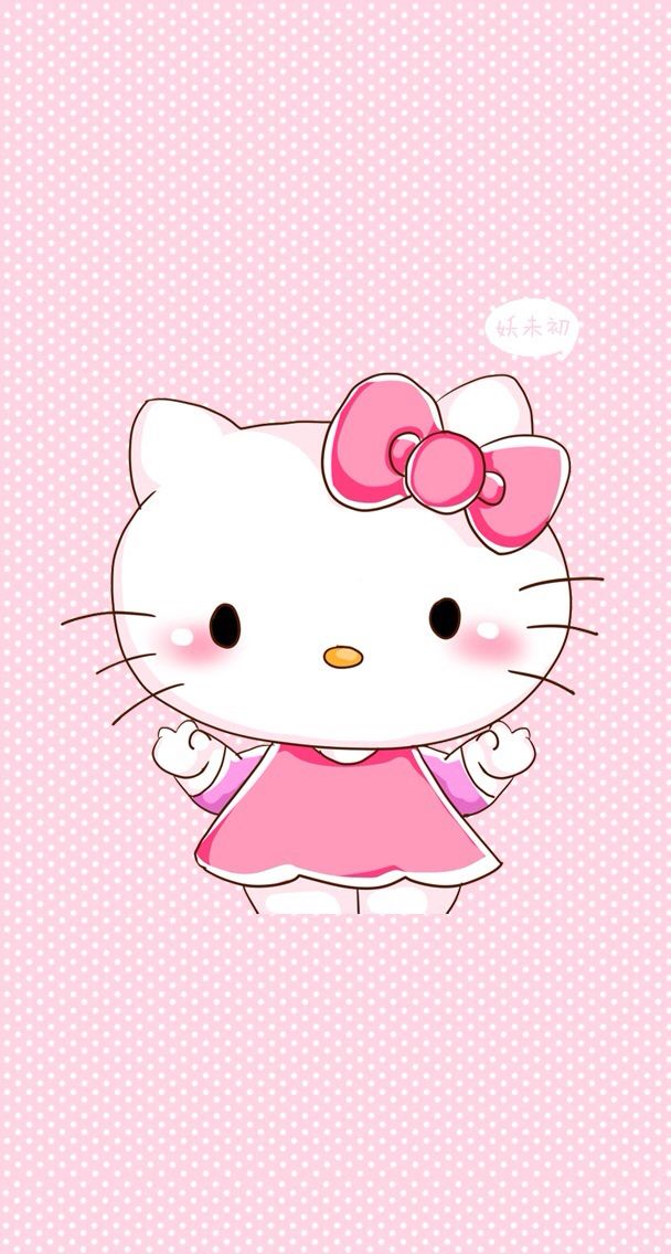 Iphone 5 Wallpaper Cute Background Free Bg Hello Kitty Kawaii Pink