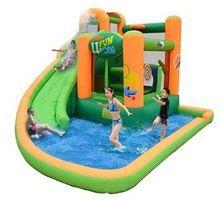 Pequeno bouncer inflável slides com pequeno para crianças partido ou de férias(China (Mainland))