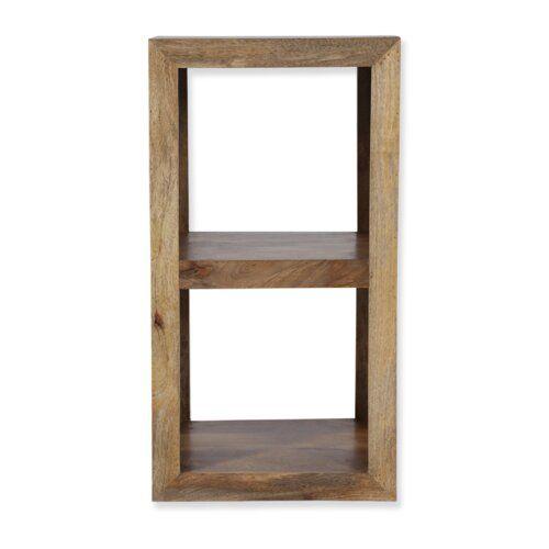 Bucherregal Beatrix Gracie Oaks Cube Shelving Unit Solid Wood
