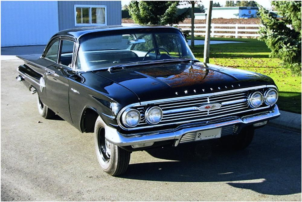 1960 Chevrolet Bel Air Coupe 348 Tripower V8 4speed 3 70