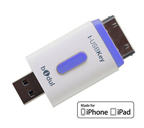 i usbkey 8gb usb stick f r iphone und ipad apple mfi. Black Bedroom Furniture Sets. Home Design Ideas