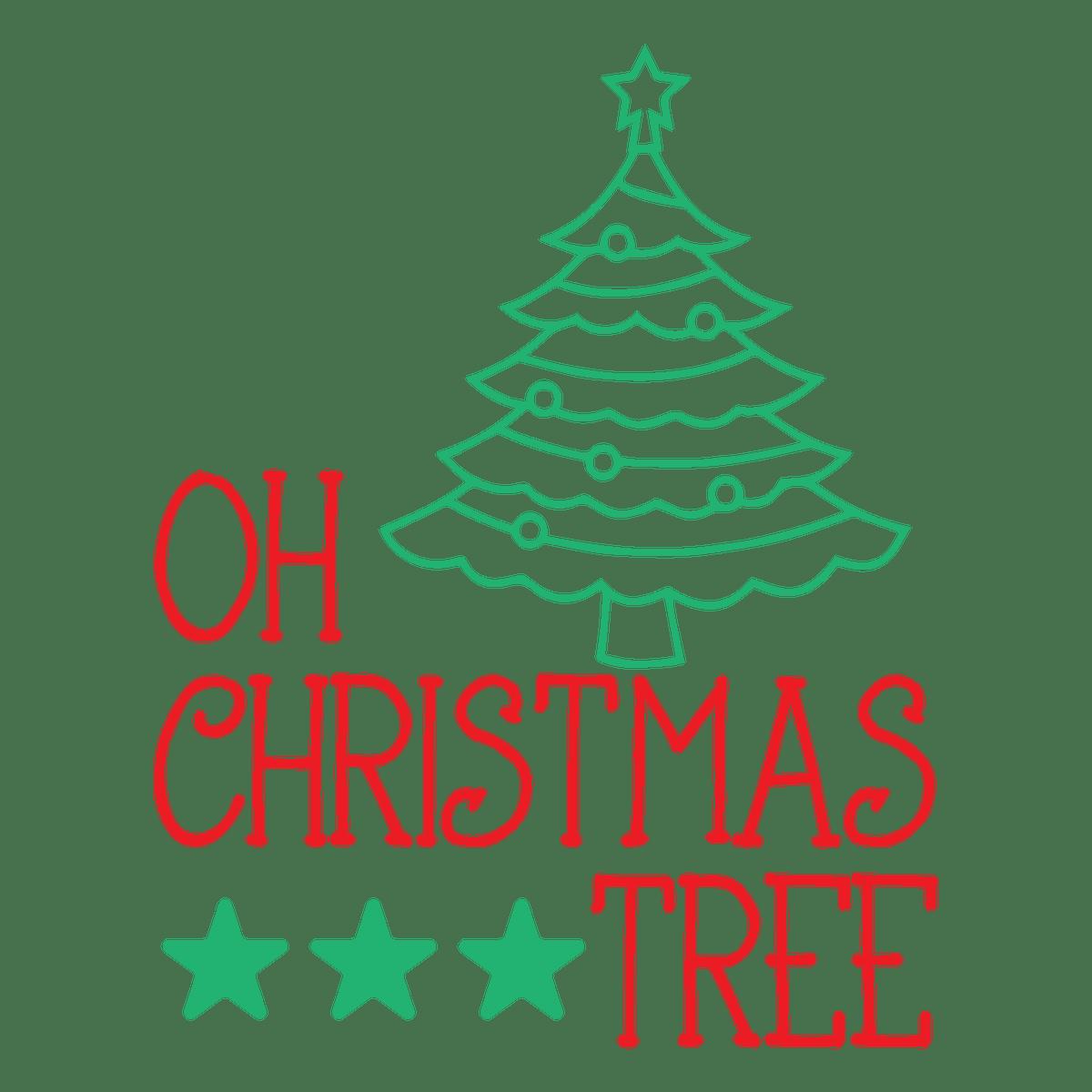 Oh Christmas Tree SVG Christmas svg, Tree svg, Upcycled