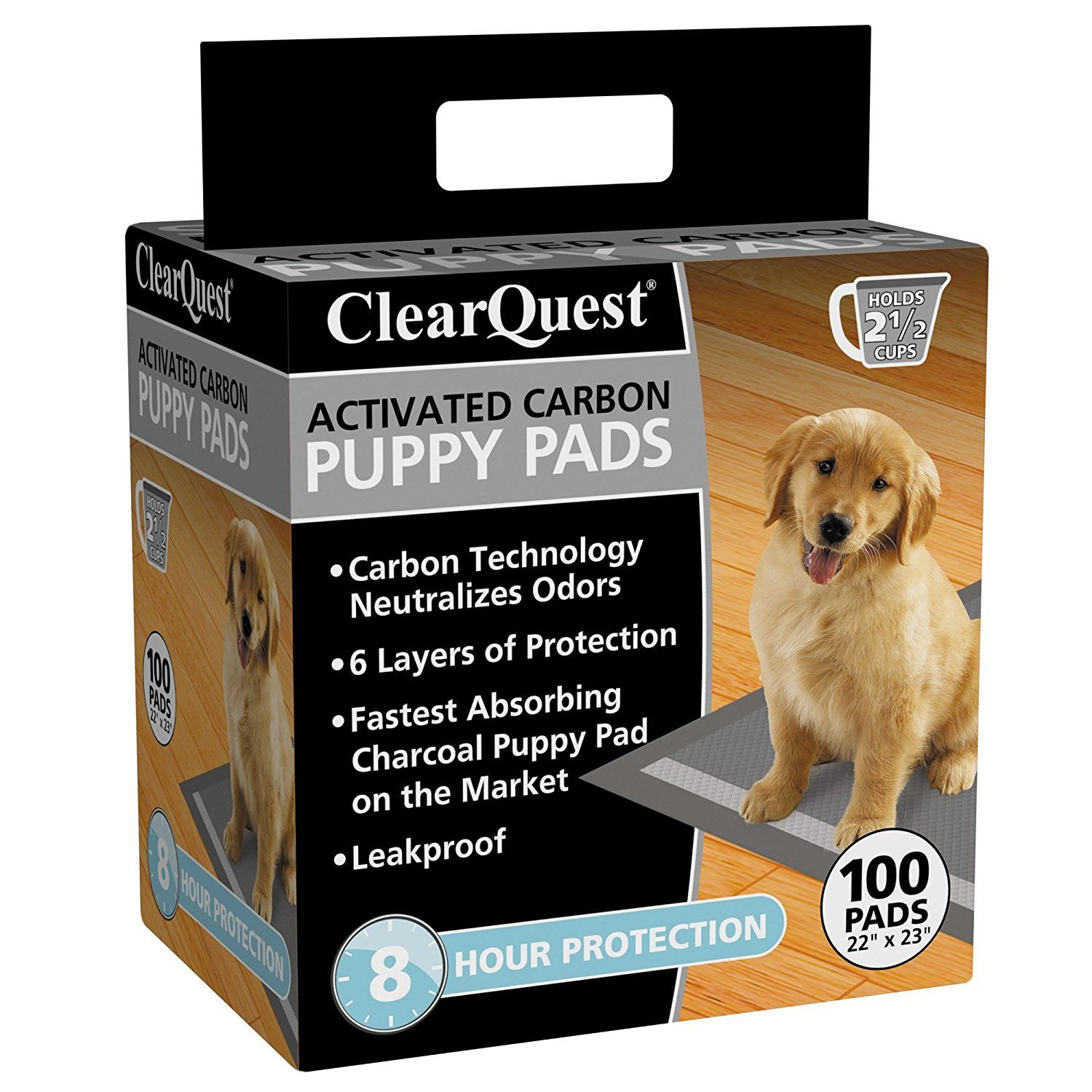 Clear Quest Charcoal Protective Puppy Pad Click On The Image
