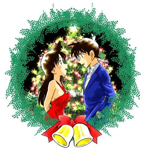 Shinichi kudo and ran mouri wedding invitations